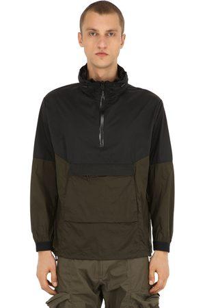 NILMANCE Nylon Anorak W/ Concealed Hood