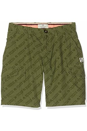 Scotch&Soda Shrunk Boy's Lightweight Cargo Shorts Trouser (Combo R 597) 128 (Size: 8)
