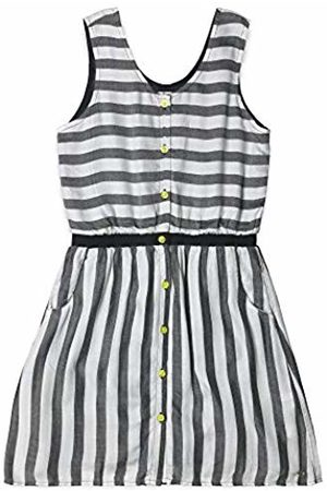 Esprit Kids Girl's Woven Dress Wo (Anthracite 290)