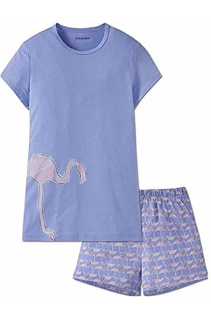 Schiesser Girl's Mädchen Anzug Kurz Pyjama Set
