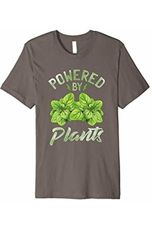 Yoga Fanatic By Pemissa Powered By Plants Shirt Vegetarian Yogi Green Vegan Yoga Tee