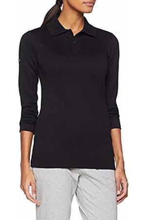 Trigema Women's Damen Langarm Polo-Shirt Pyjama Bottoms, (Schwarz 008)