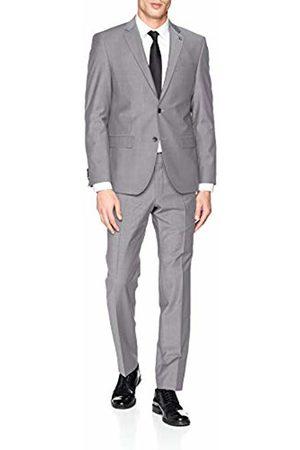 Daniel Hechter Men's's Suit Modern Dh-x (Hellgrau 900)