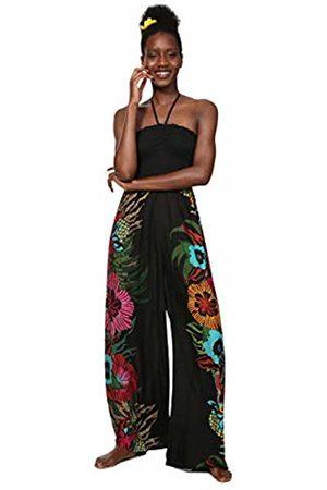 Desigual Women's Dalila Casual Pants, (Negro)
