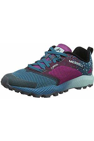 Merrell Women's All Out Crush 2 GTX Trail Running Shoes, Clover/Ocean