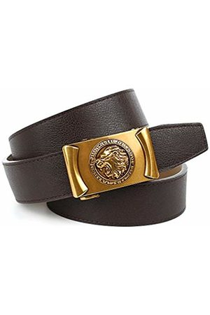 Anthoni Crown Men's B4RL.SW40 Belt, (Braun 040)