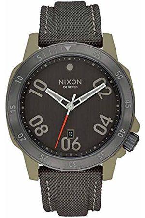 Nixon Mens Analogue Quartz Watch with Nylon Strap A9422220