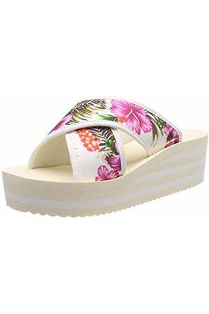 flip*flop Women's's plateaucross Aloha Platform Sandals Weiß (Marshmallow 1320)