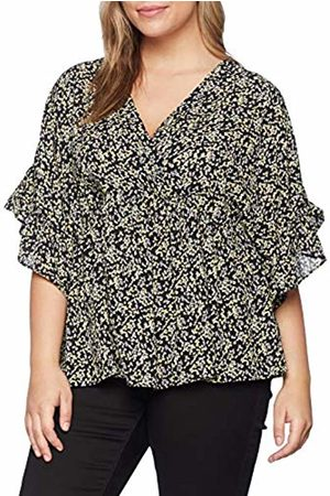 Lost Ink Women's Smock TOP in Ditsy Floral T-Shirt