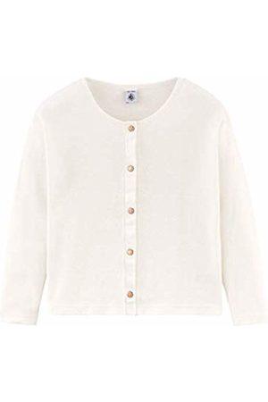 Petit Bateau Girls' Cardigan_4826206 Weiß (Marshmallow 06)