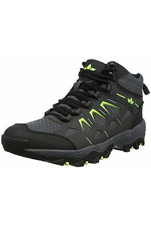 LICO Men's's Sierra High Rise Hiking Shoes, Anthrazit/Lemon