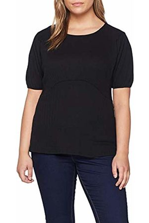 Lost Ink Women's's Batwing TOP in Rib T-Shirt, ( 0001)