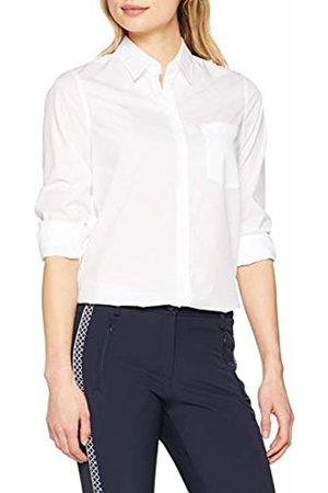 Seidensticker Women's Hemdbluse Langarm Modern Fit Uni Bügelleicht Blouse