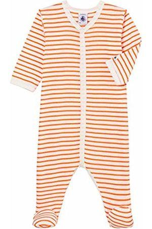 Petit Bateau Baby Boys' Bent Footies (Marshmallow/Orient 01) 86 (Size: 24M)