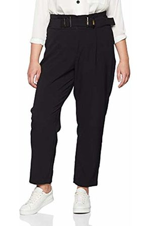 Lost Ink Women's's PEG Trouser with Double Buckle 0001