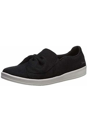 Skechers Women Trainers - Women's Madison AVE-My Town Slip On Trainers, ( Blk)