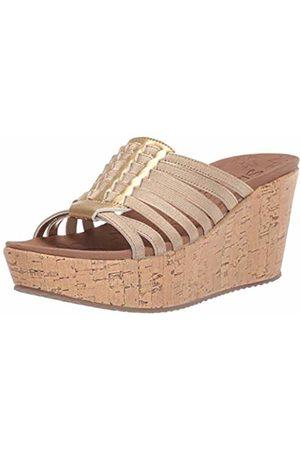 Skechers Women's BRIT-Girl Wonder Open Toe Sandals, ( Gld)