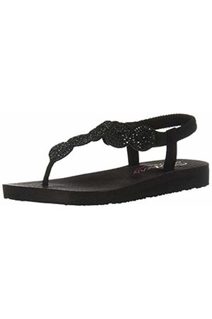 Skechers Women's Meditation Open Toe Sandals BBK