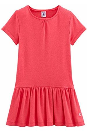 Petit Bateau Girls' Robe MC_4862502 Dress (Groseille 02) 3 Years