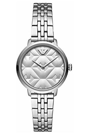 Emporio Armani Womens Analogue Quartz Watch with Stainless Steel Strap AR11213