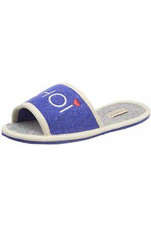 Adelheid Women's's Glück AHOI Filzlette Open Back Slippers (Meeresblau 238) 6.5/7 UK