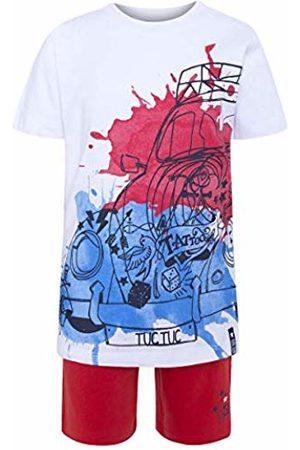 Tuc Tuc Boy's Camiseta Punto+Bermuda Felpa Niño Beetle Clothing Set