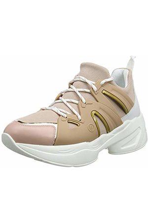 Liu Jo Women's Jog 07-Sock Sneaker Peach Low-Top, 31406