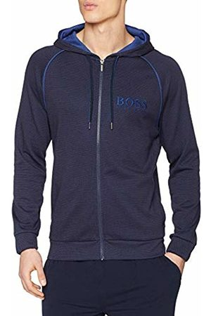 HUGO BOSS Men's Heritage Jacket Sweatshirt, (Bright 435)