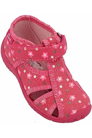 Beck Girls' Flower Hi-Top Slippers, ( 06)