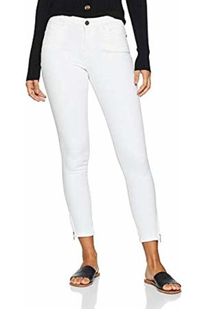 Noisy May Women's's Nmkimmy Nr Ankle Zip Jeans Az063w Noos Slim Bright