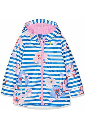 Joules Girl's Raindance Coat, (Mid Floral Midbluflrl)