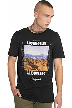 Jack & Jones Men's Jorsuburban Tee Ss Crew Neck T-Shirt, ( Fit:Slim)