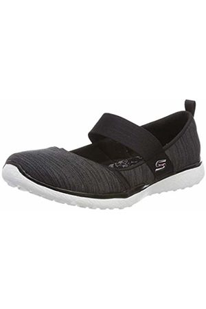 Skechers Women's Microburst-Tender Soul Slip On Trainers, ( BKW)