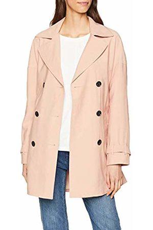 Only Women's onlEMILIA Short Trenchcoat CC OTW Coat, Rosa Rose Smoke