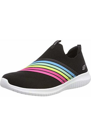 Skechers Women's Ultra Flex-BRIGHTFUL Day Slip On Trainers, ( Multi Bkmt)