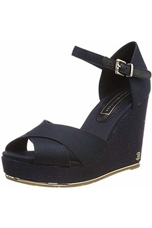 Tommy Hilfiger Women's's Feminine Wedge Sandal Basic Platform 3.5 UK