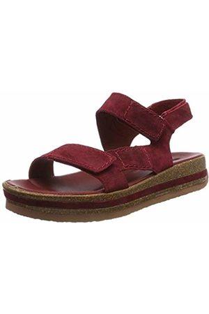 Think! Women's Zega_484385 Sling Back Sandals (Vino 38) 5 UK