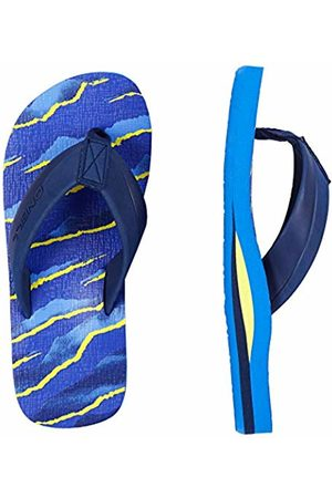 O'Neill Boys' Fb Imprint Pattern Sandals Shoes & Bags ( AOP W/ OR 5920) 13 UK