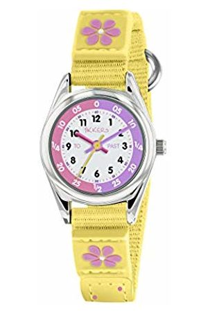 Tikkers Girls Analogue Classic Quartz Watch with Textile Strap TK0155