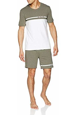 HUGO BOSS Men's Trend Short Set Pyjama (Dark 307)