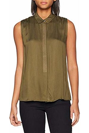 Guess Women s Sl Valeria Shirt Multicolore (Autumn Leaf A871 Aufl) 99c11d4cd