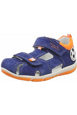 Superfit Baby Boys'' Freddy Open Toe Sandals (Blau/ 80) 5.5 UK