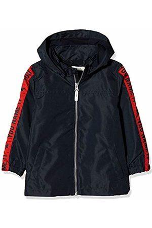 Name it Boys' NMMMELLON Jacket Sleeve Print Blau Dark Sapphire