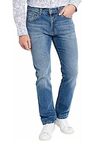 Pioneer Men's's Rando Straight Jeans (Stone Used with Buffies 349) W44/L32 (Size: 4432)