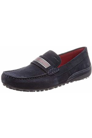 Geox Men's's Uomo Snake Mocassino C Mocassins (Navy C4002) 11 UK
