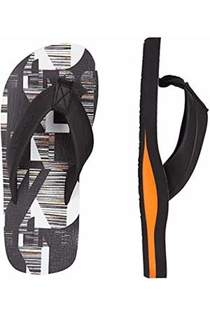 O'Neill Boys'' Fb Imprint Pattern Sandals Shoes & Bags ( AOP W/ 9910) 2 UK