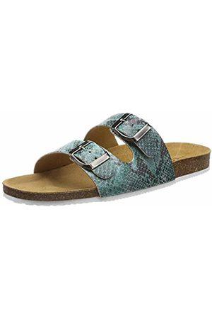 Pieces Women's Pscoco Suede Sandal Flatform Legion 5 UK