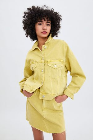 Zara Coloured denim jacket