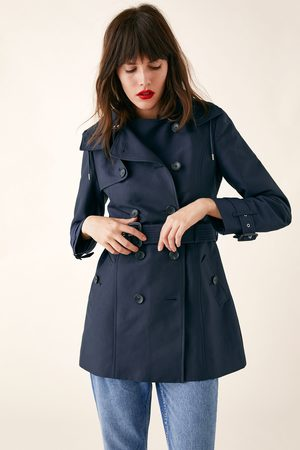 Zara Water-resistant tailored trench coat