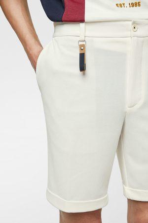 Zara Bermuda shorts with key ring detail